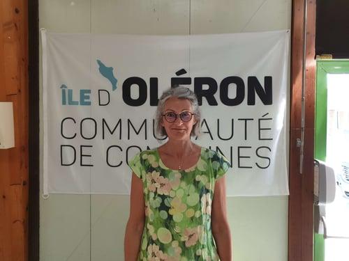 Marie-Josée Villautreix, maire de Saint-Trojan les Bains et vice-présidente de la Communauté de Communes