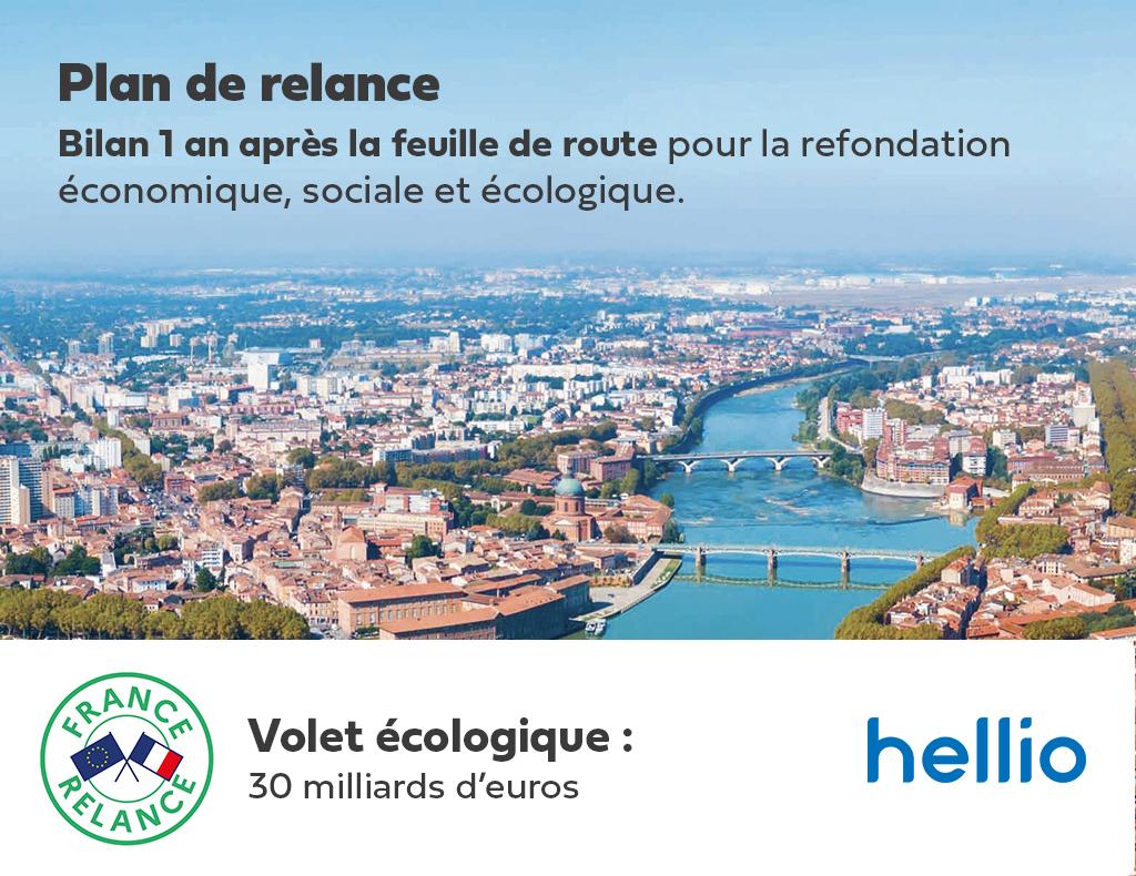 Hellio fait le bilan un an après la feuille de route pour la refondation économique, sociale et écologique.