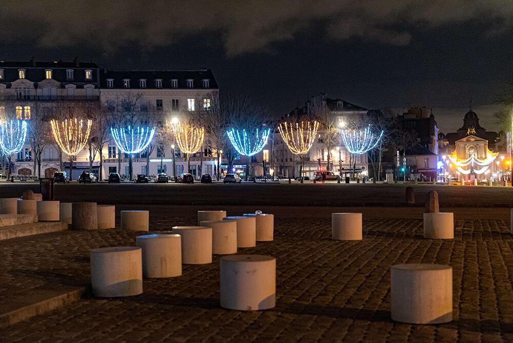Illuminations de Noël 2020 de Versailles