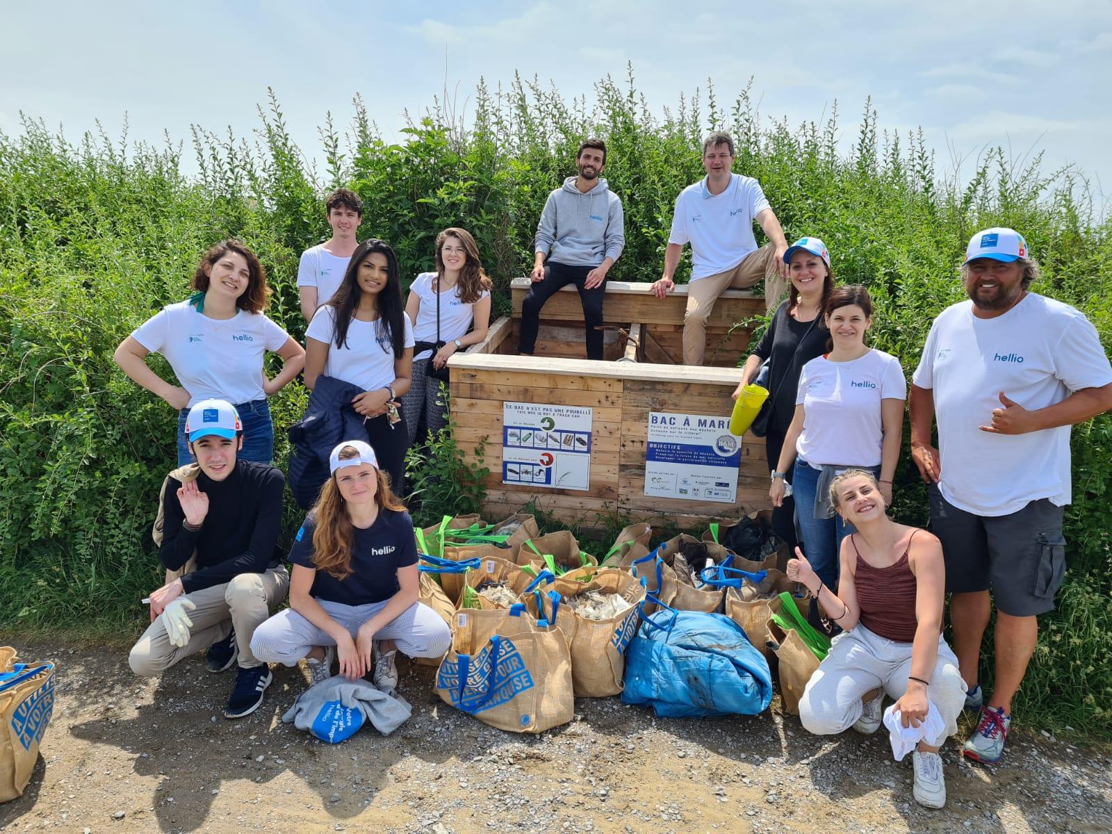 Journée Stop Plastic Pollution avec Hellio : Steve Stievenart sensibilise les salariés Hellio à la pollution de la mer