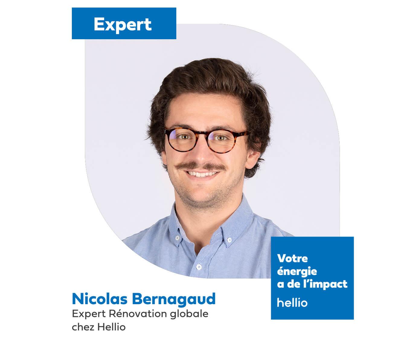 Nicolas Bernagaud expert Hellio rénovation globale