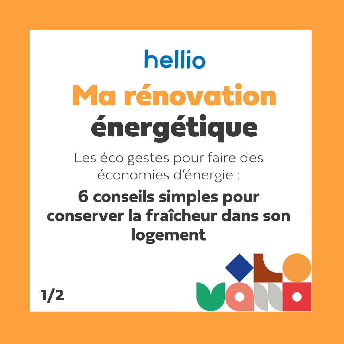 podcast Ma rénovation énergétique Hellio : 6 conseils simples pour conserver la fraîcheur dans son logement