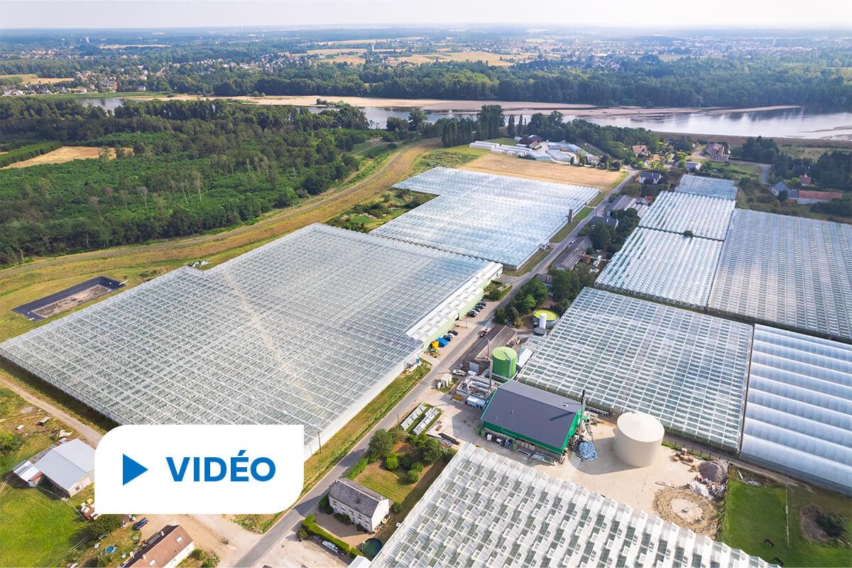 économies d'énergie du secteur agricole en vidéo au Domaine des Doigts Verts