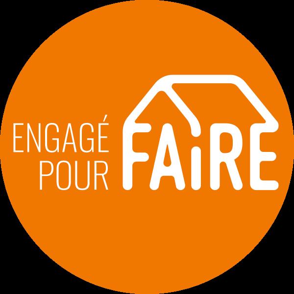 logo Engagé Pour Faire orange