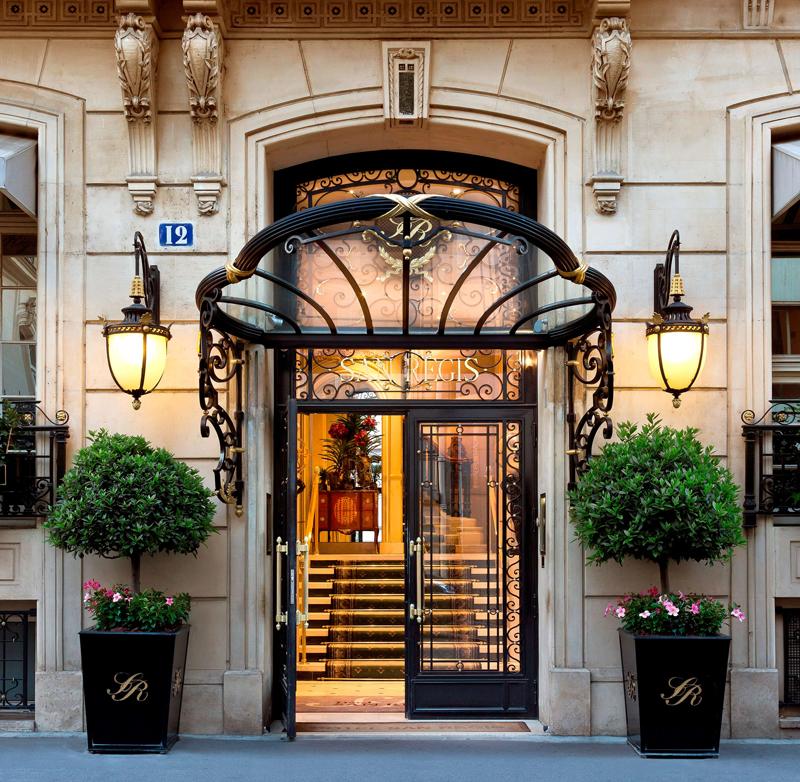 Le San Régis, hôtel 5 étoiles situé en plein coeur de Paris