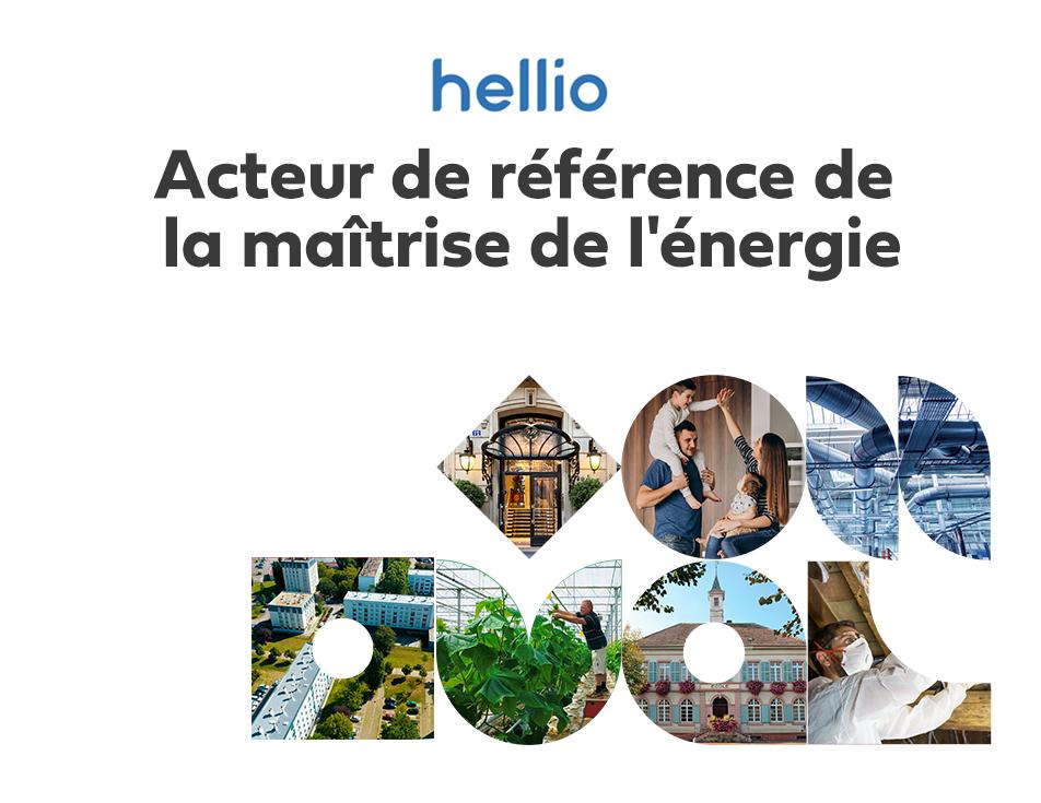 Hellio et GEO PLC unissent leurs forces et leurs expertises pour développer une offre globale sous la marque unique Hellio afin de mieux répondre aux enjeux de la maîtrise de l'énergie.