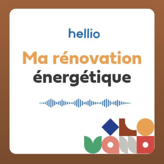 Hellio lance les podcasts dédiés à la rénovation énergétique.