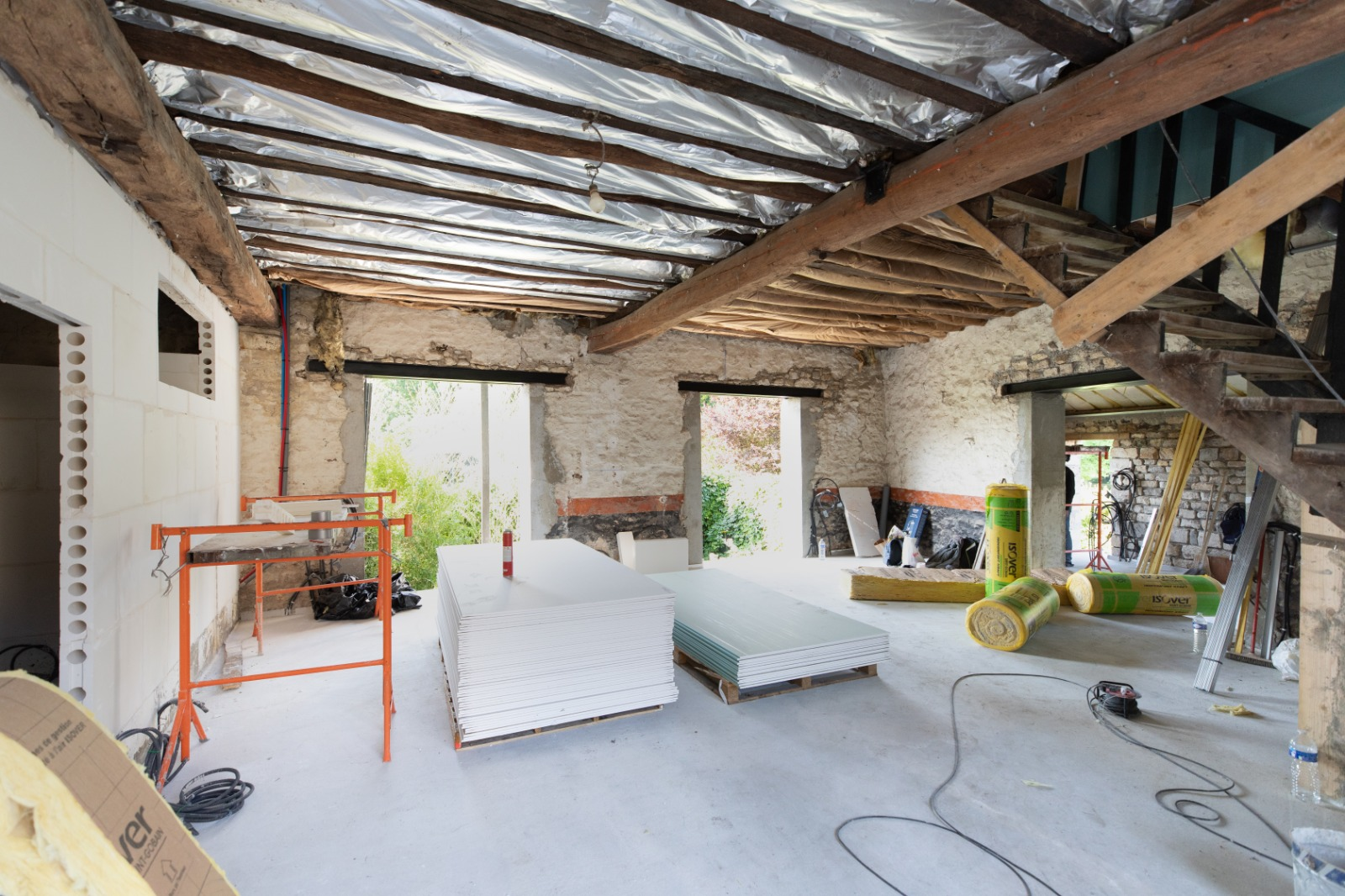 Coup de pouce rénovation globale en maison individuelle 1 an