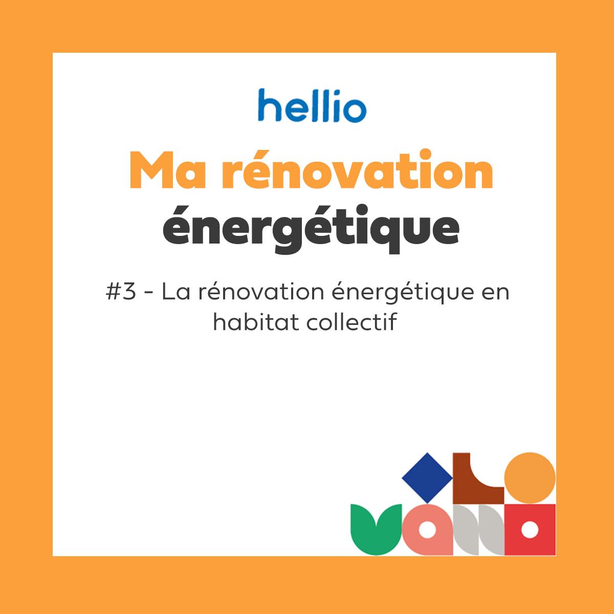 Podcast - Ma rénovation énergétique : #3 la rénovation énergétique en habitat collectif