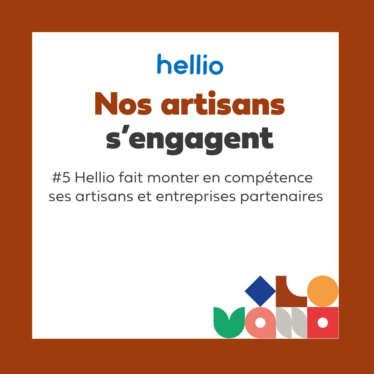 vignette podcast - Nos artisans s'engagent : Hellio fait monter en compétences ses artisans et entreprises partenaires